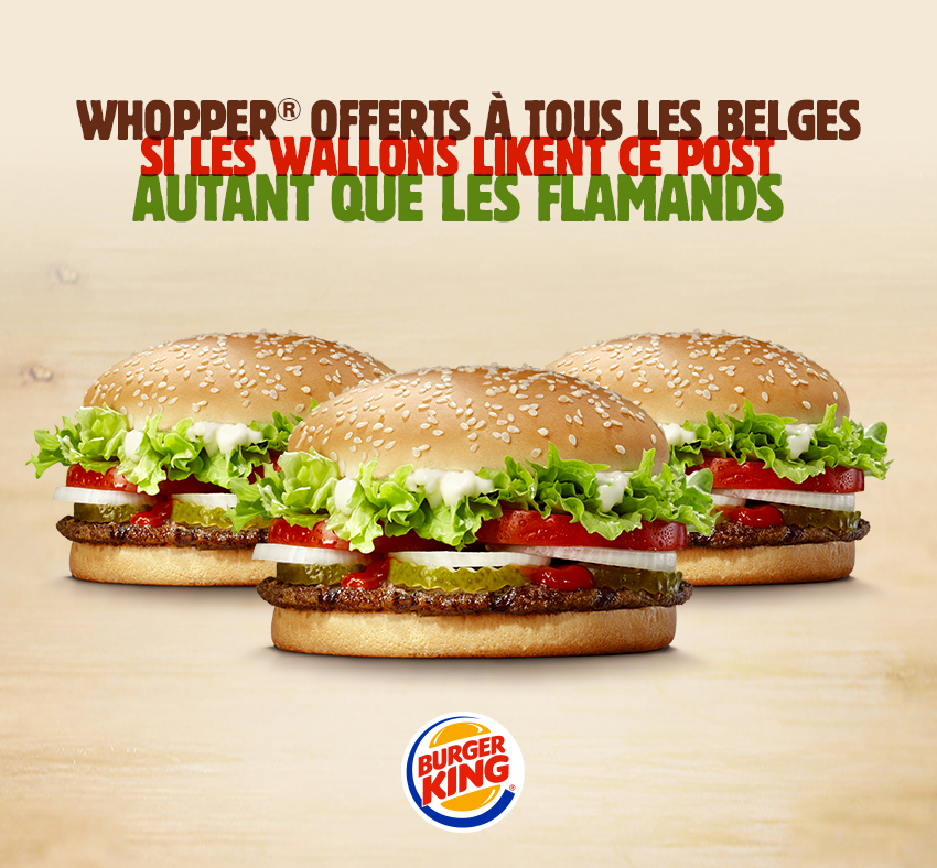 Burger King Belgique
