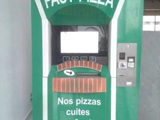 Des distributeurs de pizza à Alger