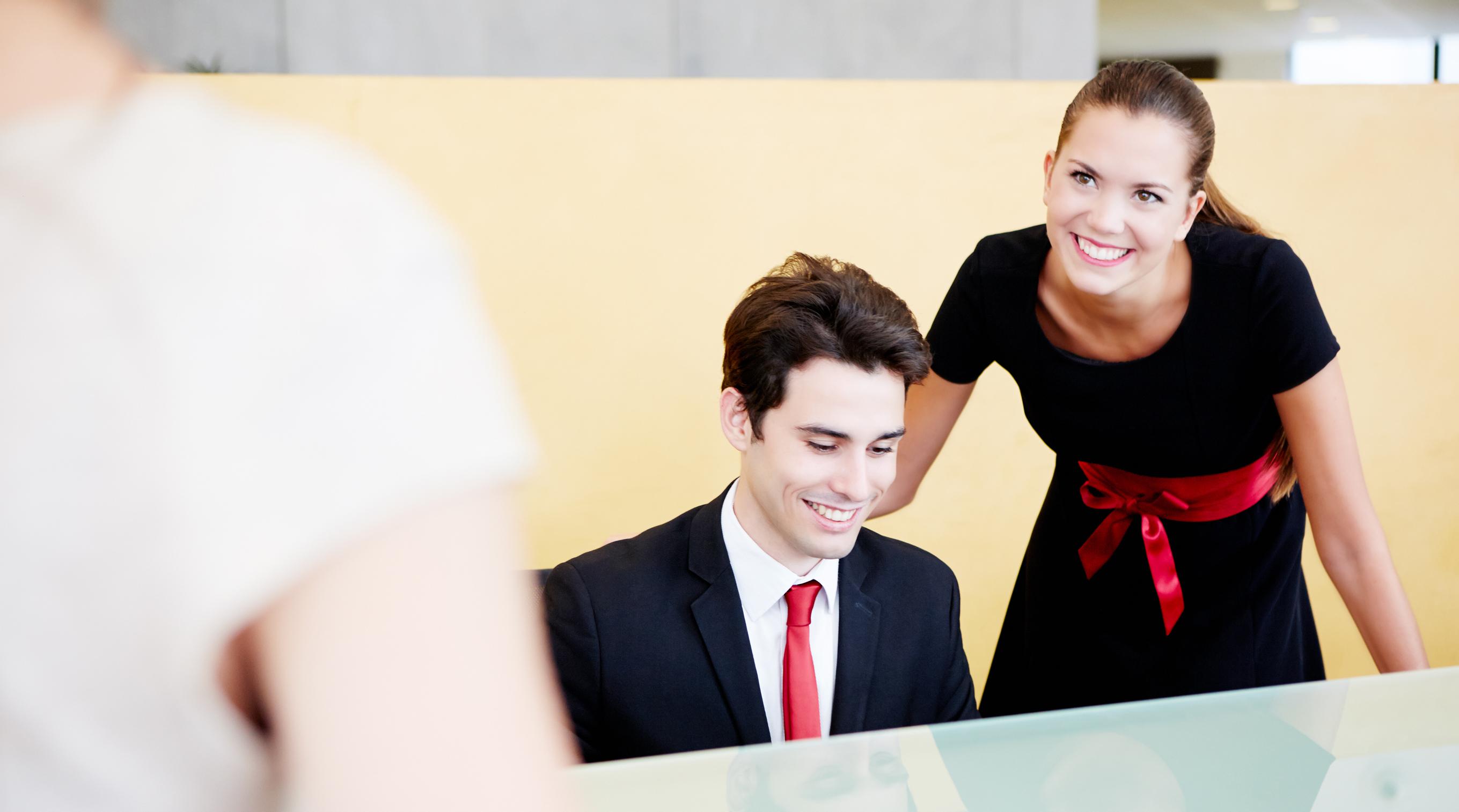 Réception_service_clientèle_