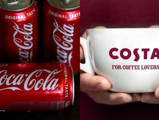 Coca-Cola : se paie les cafés Costa