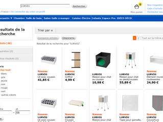 IKEA : vise une nouvelle clientèle ; les chats et les chiens
