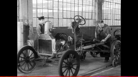 Construction chassis Ford T
