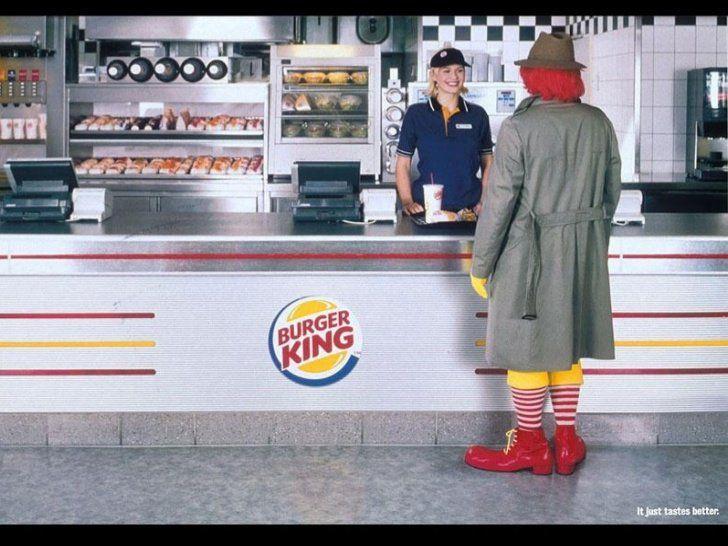 Ronald chez Burger King