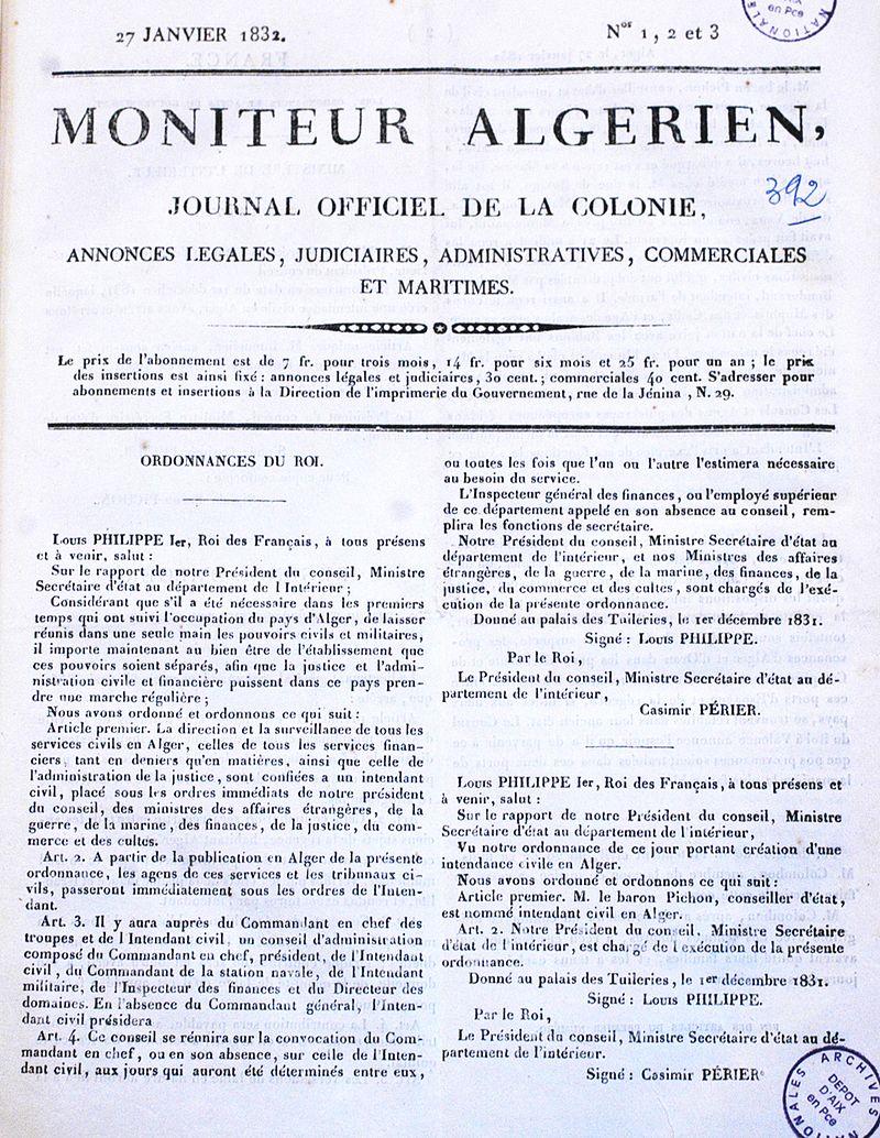 Le_Moniteur_algérien_du_27_janvier_1832