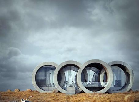 Des maisons en forme de logos automobiles
