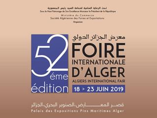 La 52ème Foire Internationale d'Alger ouvre ses portes le 18 juin.