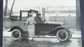 Les premiers taxis en Algérie