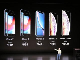 Apple : IPhone XS à un prix XL
