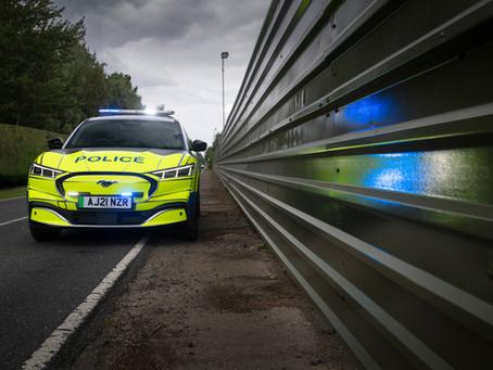 La Police Britannique en Ford Mustang Mach-E