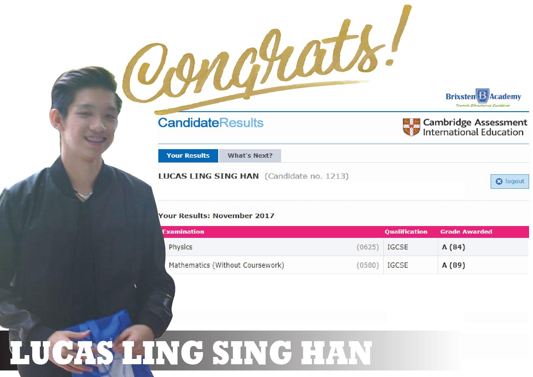 Lucas Ling Sing Han