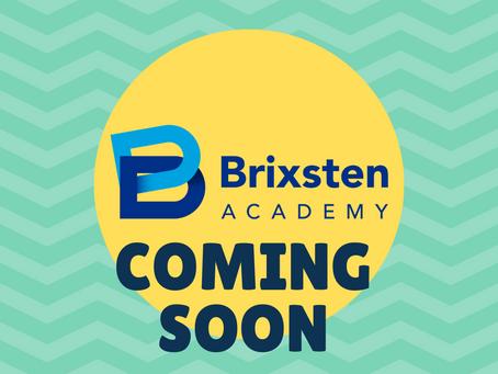 Brixsten Blog Coming Soon!