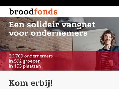 Donderdag 29 oktober 2020 netwerkavond in Zaltbommel bij Broodfonds Bommelerwaard