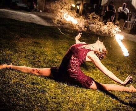 fire performer kent