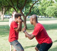 Austin Black Pride hosted Self Defense Training July 2016