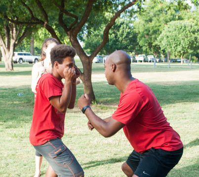 Austin Black Pride hosted Self Defense Training July 2016