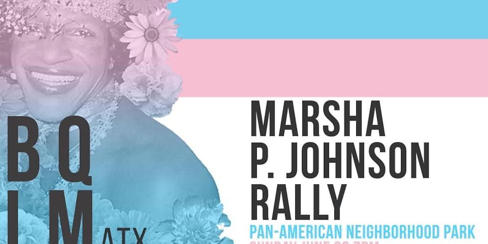 Marsha P. Johnson Memorial Rally and Candlelight Vigil