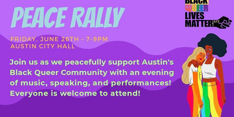 BQLM Peace Rally