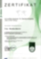 Certificado por DEKRA Peritode valoraciones y tasaciones inmobiliarias München