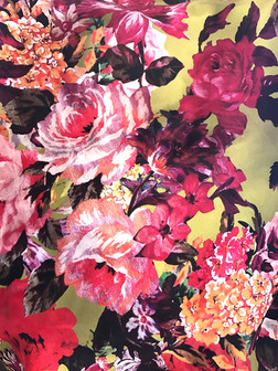 + Painted victorian flowers +