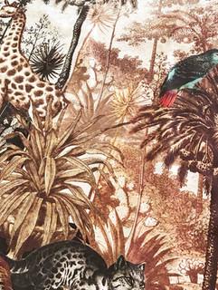 + Etching botanicals tropical print +
