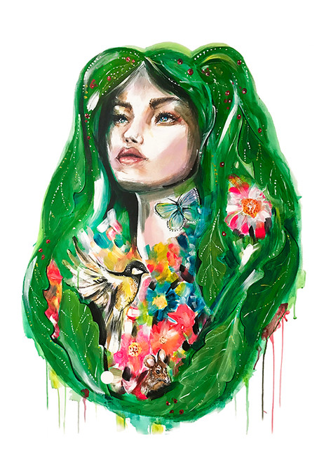 + The Green Woman +