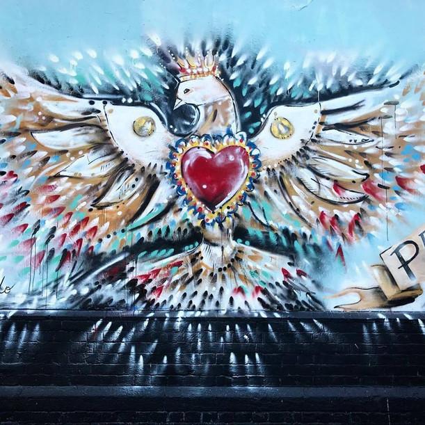 + Peace on Shoreditch Wall, London +