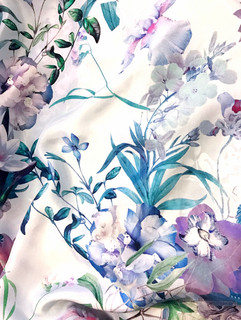 + Vintage botanicals print +