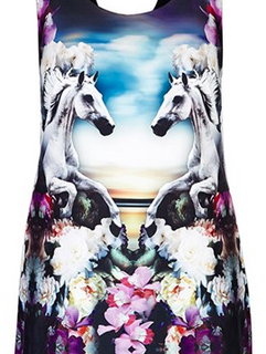 + Horses&Flowers t-shirt +