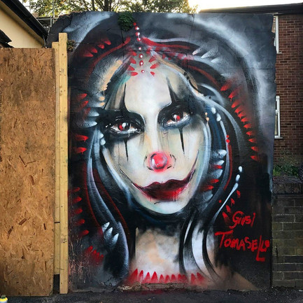 + The Crow in Penge for londoncalling paint jam +