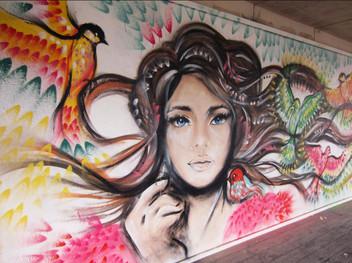 + Diana in Highelms Park, London +