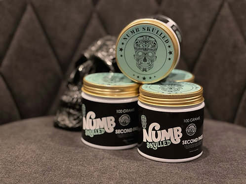 Numb Skulled 'Second Pass' Tattoo and Body Scrub (100g)