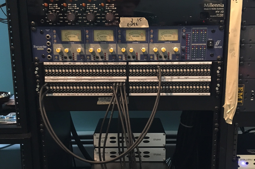 Gear and patchbay