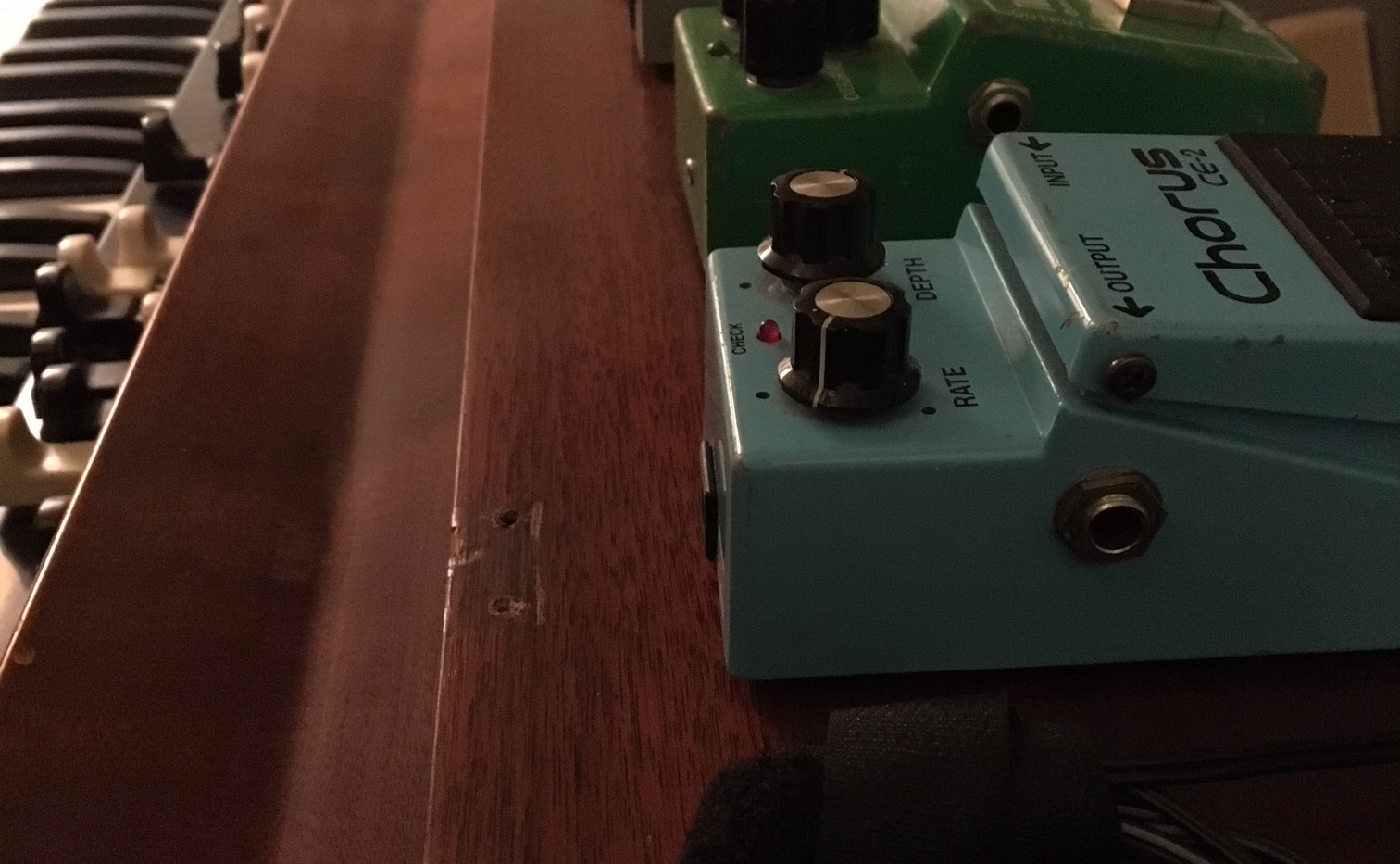 Pedals and Hammond