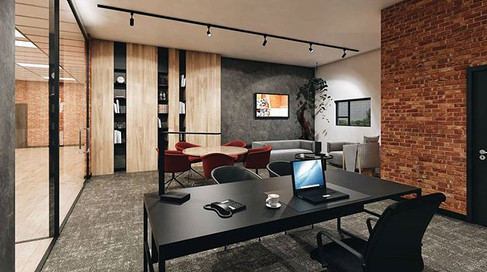 3D of office design completed for GloToo
