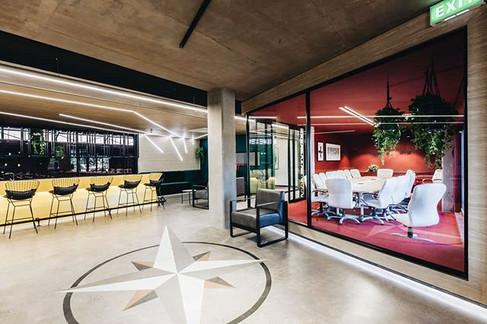 Distriliq head offices designed by Zanee