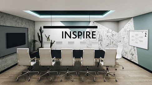 We design to inspire and are inspired to