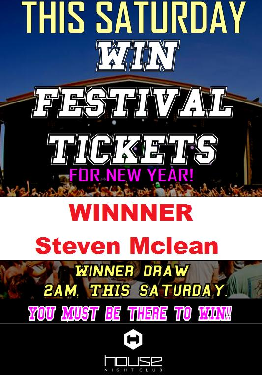 Festival Tickets