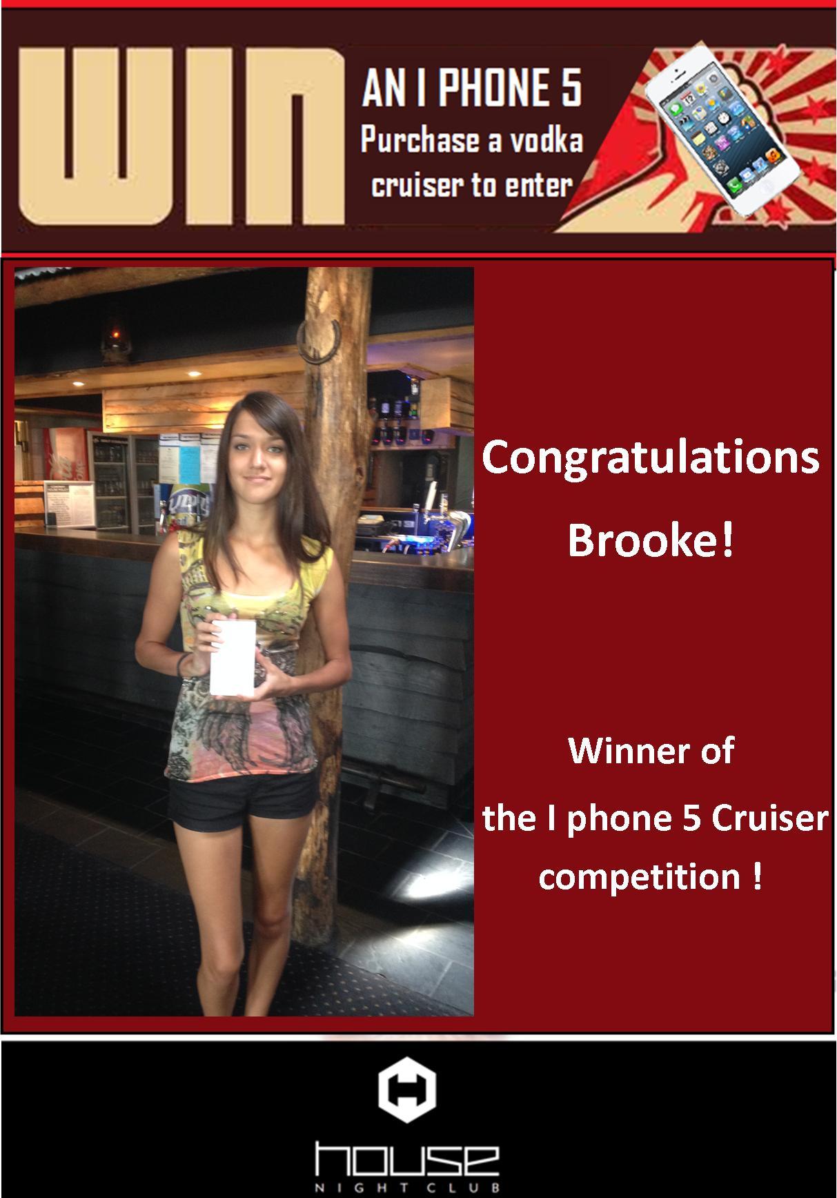 Winner of 1 Phone 5