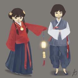 Spring Festival Children