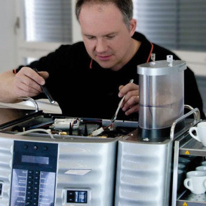 Kohvimasinate hooldus ja remont