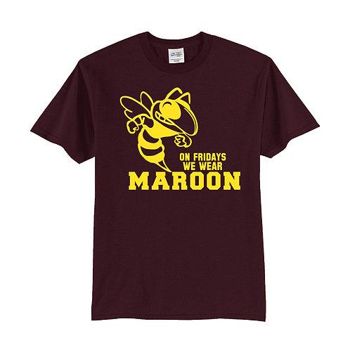 On Fridays we wear Maroon