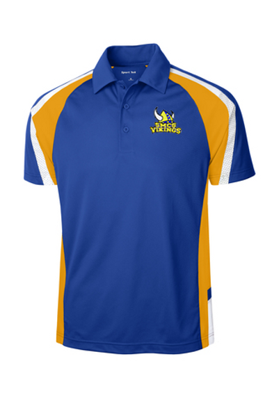 SMCS Tri-Color Mens Polo