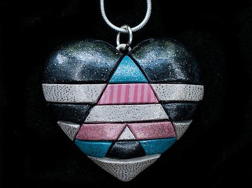 Trans Ally Flag Pendant