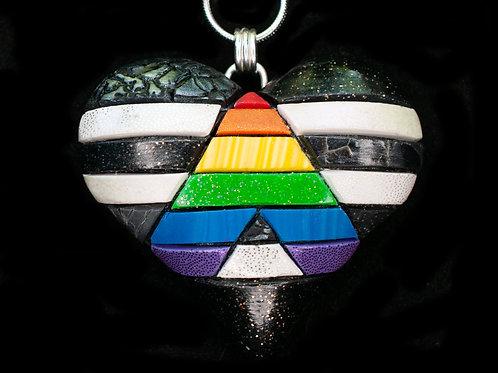Rainbow Ally Flag Pendant