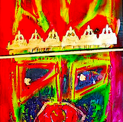"King Georges ""acry"" canvas 2X81*61"