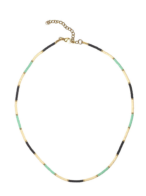 Ketting Summer vibes Blue/Gold