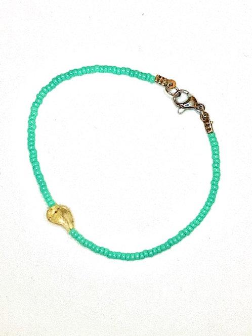 Armband 'love some cute Shell' blauw