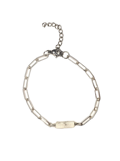 Armband 'Kate' zilver