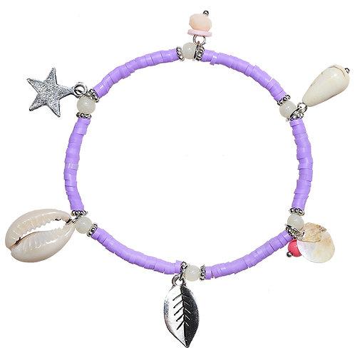 Armband 'Purple Summer'