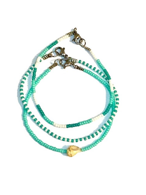 Armbanden set 'blauw'